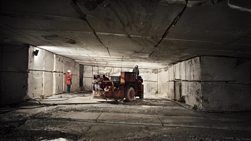 Edward Burtynsky, Danby Marble Quarry #2