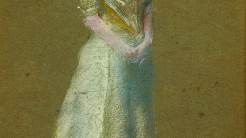 Thomas Wilmer Dewing, White and Gold