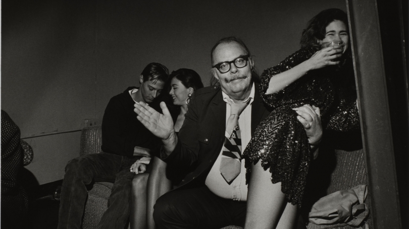 Larry Fink, After Hours Club, New York City, April 1990