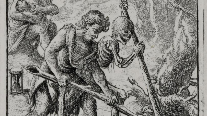 Wenceslaus Hollar, When Adam Delved