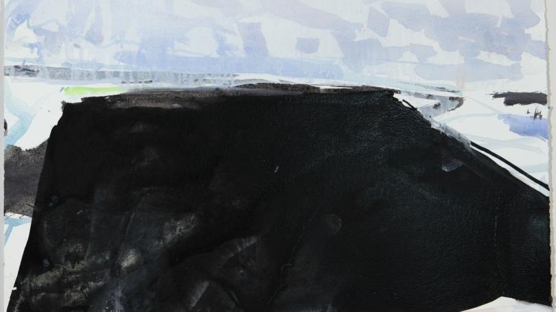 Eric Aho, Ice Cut III, 2010