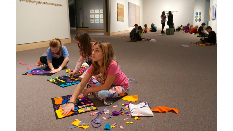 Students in the Images and ArtStart programs