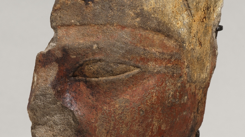 Fragmentary face of Mentuhotep III