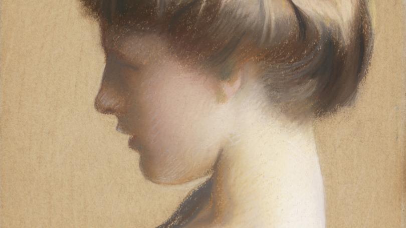 William McGregor Paxton, Lizzie Young