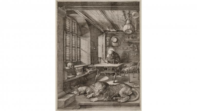 Albrecht Durer, Saint Jerome in His Study