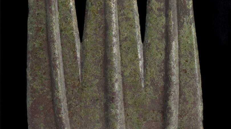 Greek, Etruscan, or Roman, trident