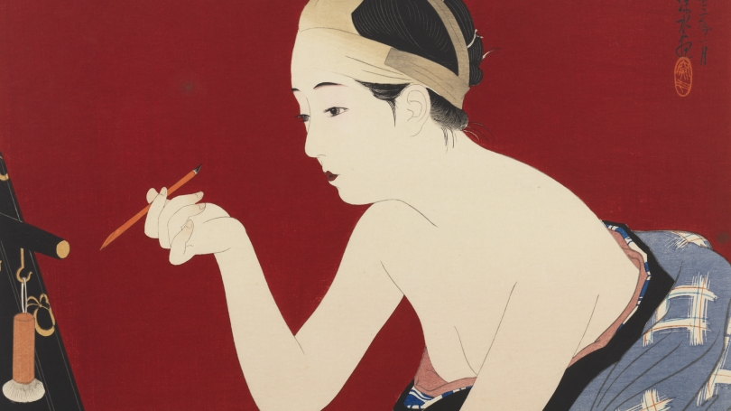 Itō Shinsui, Eyebrow Pencil