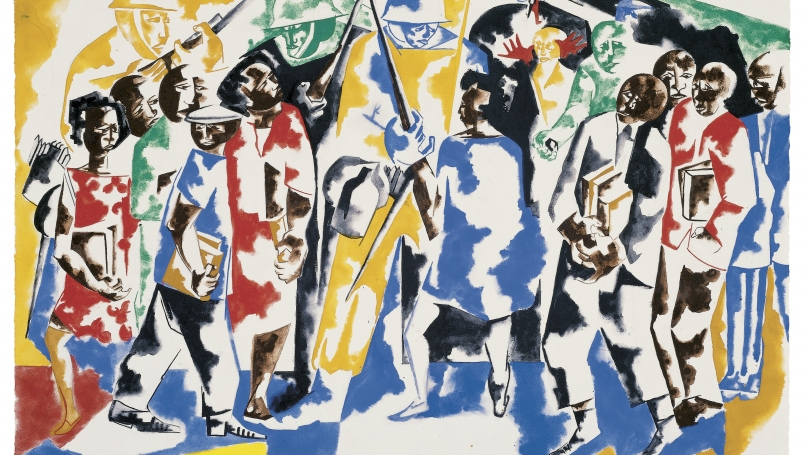 Jacob Lawrence, Soldiers and Students