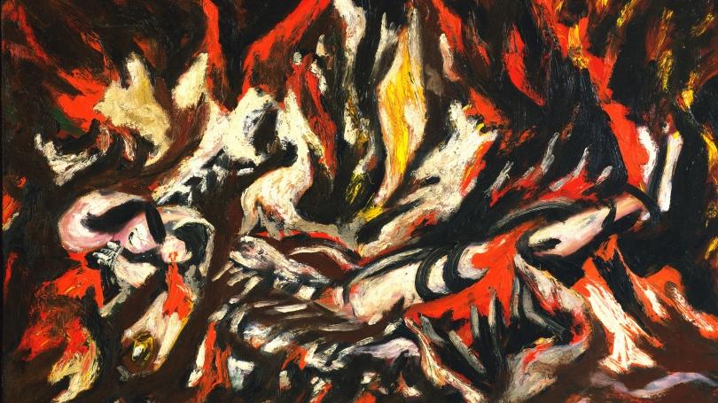 Jackson Pollock, The Flame