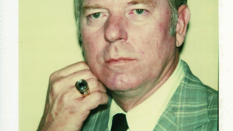 Andy Warhol, Unidentified Man [Gray Plaid Jacket]