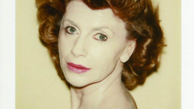 Andy Warhol, Unidentified Woman [Short Curly Hair], February 1980