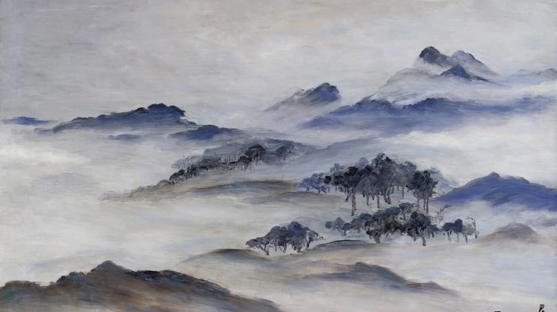 Fan Tchunpi, White Mountain Landscape