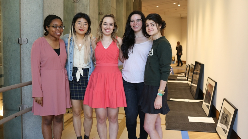 The 2017-18 senior Hood interns.