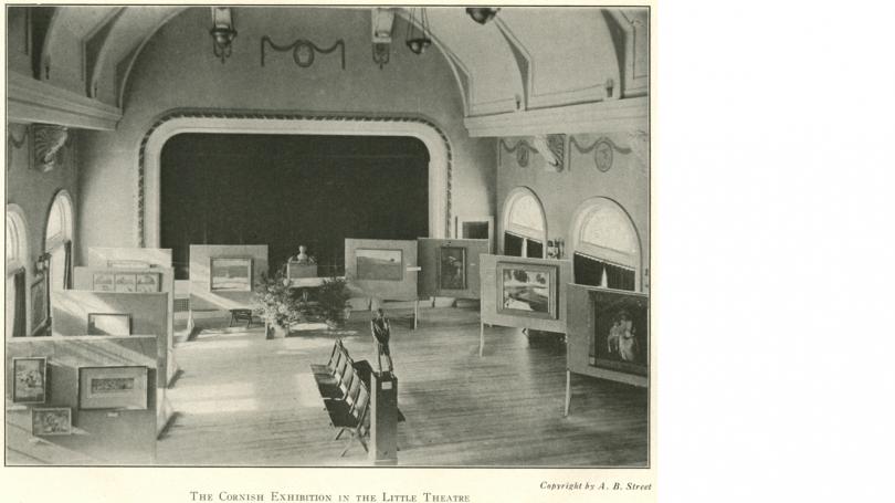 Exhibition of Cornish Artists, Little Theater, Robinson Hall, Dartmouth College.