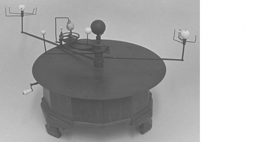 Orrery, about 1780, purchased 1785. Hood Museum of Art, Dartmouth: Allen King Collection of Scientific Instruments