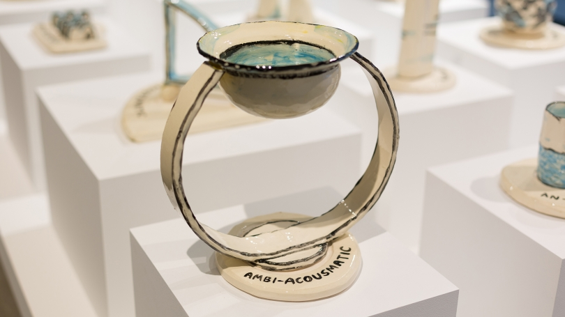 Ambi-Acousmatic, ceramic.