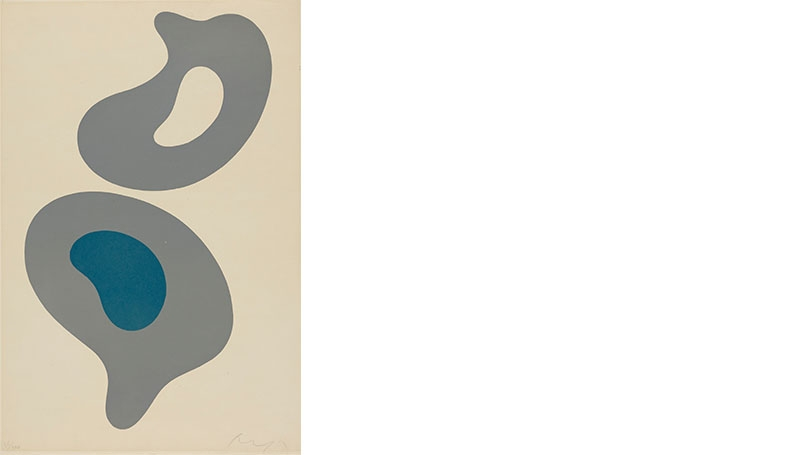 Hans (Jean) Arp, Abstraction, not dated.