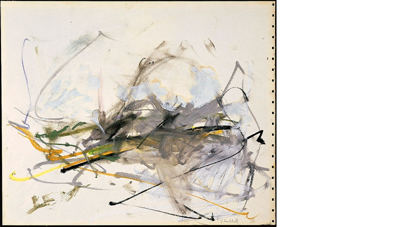 Joan Mitchell, Untitled, about 1959.