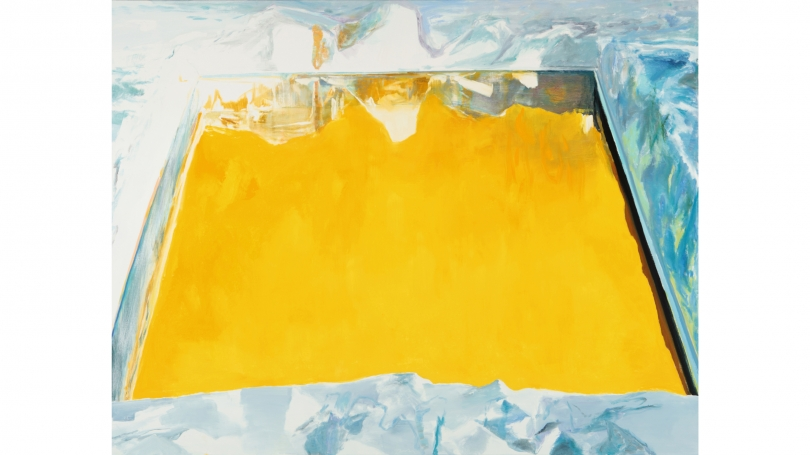 Ice Cut (Arctic Sky) Study no. 1 by Eric Aho