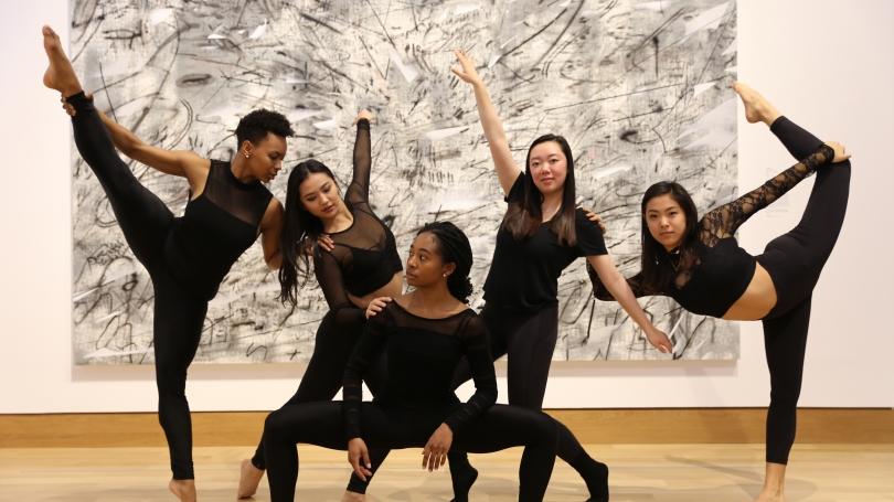 Sugarplum Dancers Strike a Pose | Hood Museum