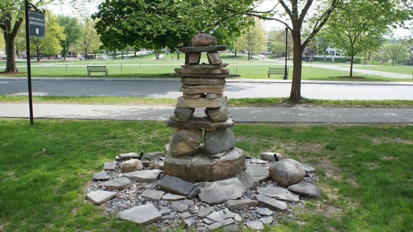 Peter Irniq, Inuksuk, 2007, stone. Commissioned by the Trustees of Dartmouth College; 2009.81
