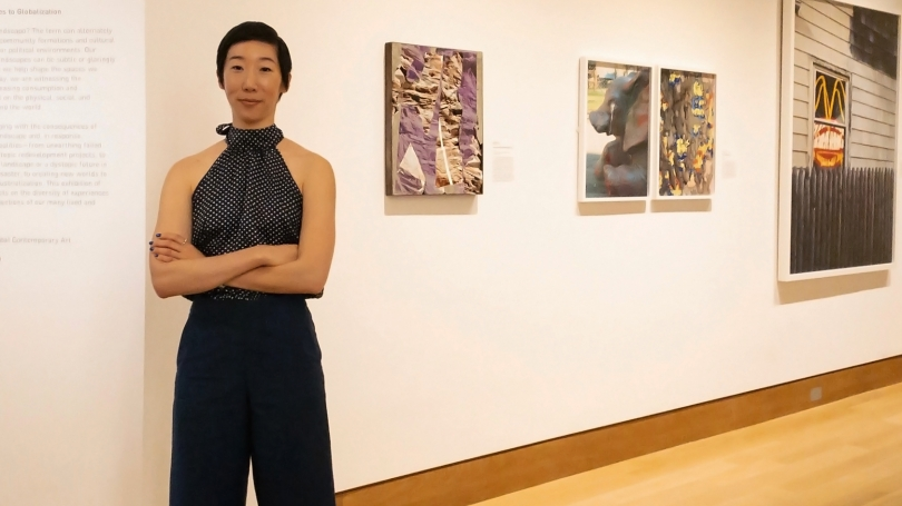 Associate Curator of Global Contemporary Art Jessica Hong. Photo by Alison Palizzolo.