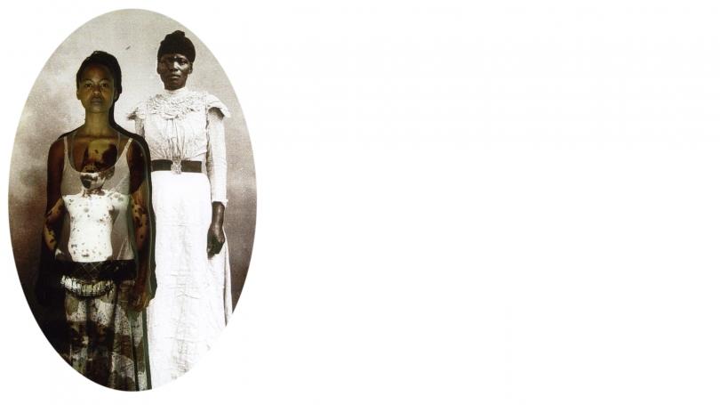 Nomusa Makhubu, Umasifanisane I (Comparison I), 2013, digital print on archival Litho paper. Image courtesy of the artist.