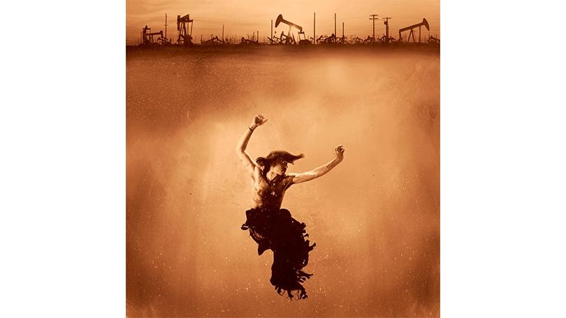 "Cara Romero, ""Oil Boom,"" 2015"
