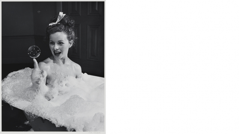 Peter Stackpole, Jeanne Crain (cover shot for Life magazine, September 30, 1946), 1946 (print probably 1970s), gelatin silver print. Purchased through the Elizabeth and David C. Lowenstein '67 Fund and the Fund for Contemporary Photography; 2016.30.17.