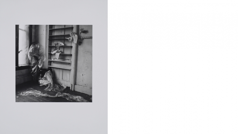 Francesca Woodman, My House, Providence, Rhode Island, 1976, estate gelatin silver print, edition 9 of 40, printed 2008. Purchased through a gift from Marina and Andrew E. Lewin, Class of 1981; 2013.12.1 © George and Betty Woodman