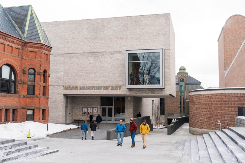 Photo of the new museum entrance