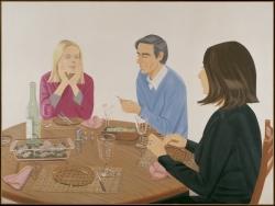 Supper by Alex Katz