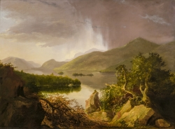 thomas cole view of lake george
