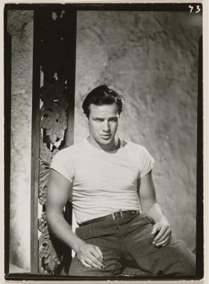 Marlon Brando in a scene from the 1951 film 'A Streetcar Named Desire.'